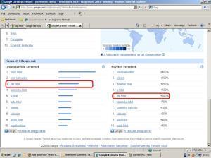 otp hitel google trendek