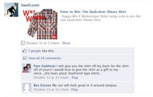 Facebook rajongó