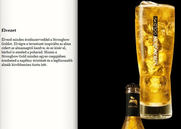strongbow gold cider beer