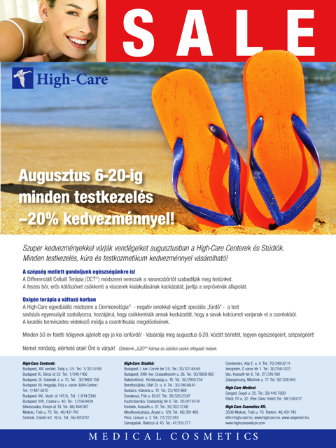 high care akcio kozmetika