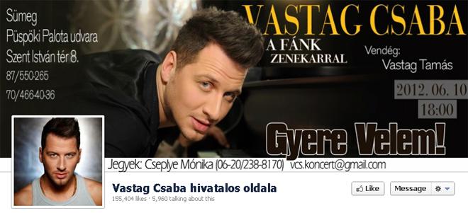 vastag csaba rajongói oldala