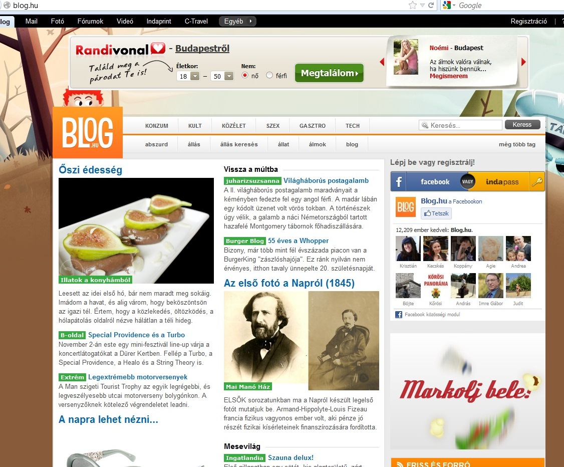 blog.hu - szinte.wordpress.com