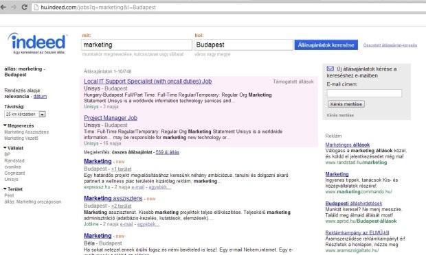 indeed álláskeresés -szinte.wordpress.com online marketing szakértő