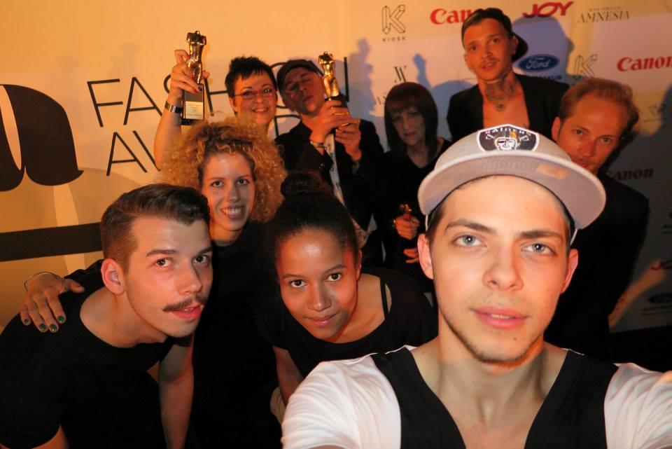 Fashion awards Selfie