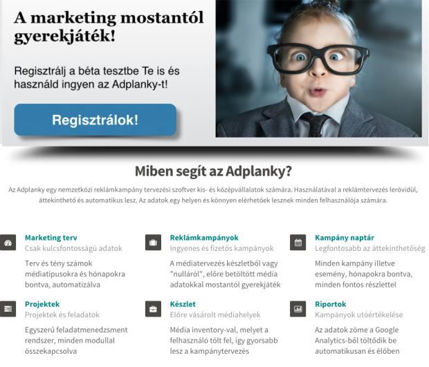 Marketingtervező