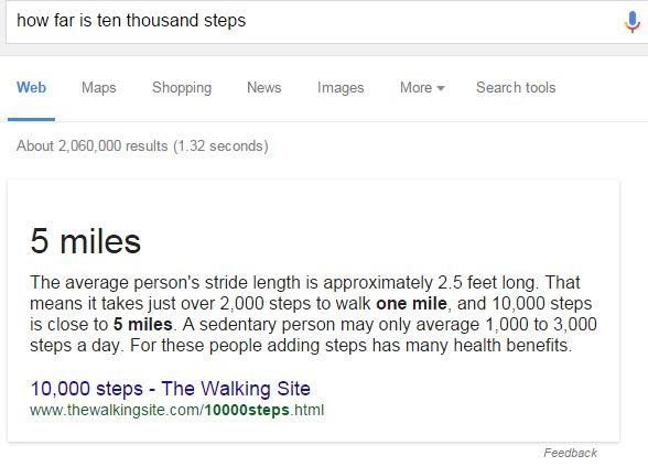 Google SEO rich answers